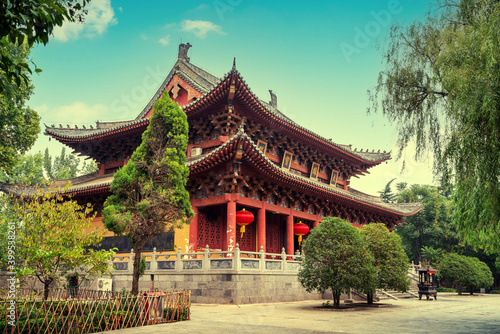 White Horse Temple is the first government-run temple built after Buddhism was introduced to China, Luoyang, China Fotobehang