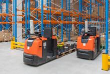 Order Picker Forklift Trucks Warehouse