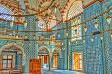 Istanbul, Yeni Cami Or New Mosque, HDR Image