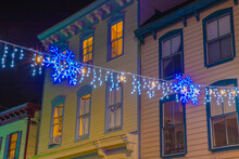 Holiday Lights Annapolis Maryland Anne Arundel County USA
