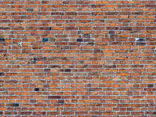 Fragment Of A 19th Century Brick Wall