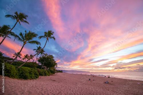 Slika na platnu Hawaii Sunset