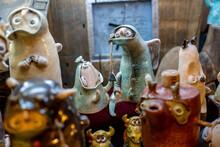 Clay Figurines Of Little Men