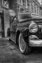 Classic Car Study 1941 Black And White