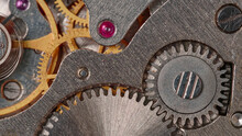 Fragment Of The Clockwork Close-up