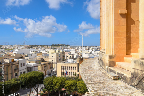 Valokuvatapetti The beautiful limestone city of Mosta in the heart of the island of Malta