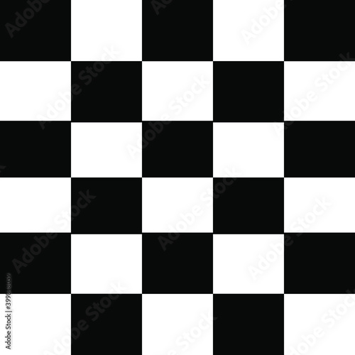 Fototapeta black and white chess board