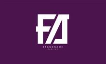 Alphabet Letters Initials Monogram Logo FA, AF, F And A