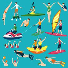 Water Sport And Activities Set
