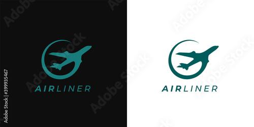 Fototapeta Plane icon