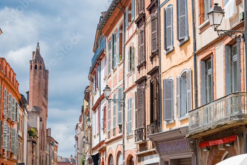 Fototapety, obrazy: Beautiful streets of Toulouse