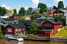 Wooden Town Of Poorvo, Finland