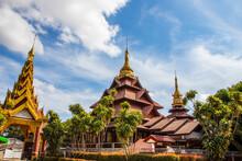 Tachileik Pagoda Myanmar Burma Southeast Asia