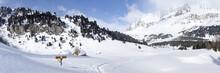 Winter Landscape, Lareccio Canals And Colombe Pass