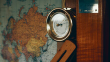 Barometer And Map
