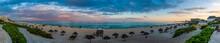 Sunset At Maxico Beach