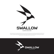 Swallow Logo Icon Design
