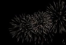 Firework Sparking Bokehs