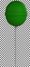 3d Green Lollipop Png