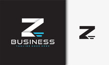 Initials Z Fast Logo