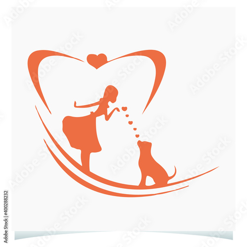 Canvas Print Dog lover mom, Dog t shirt Vector Graphics to download