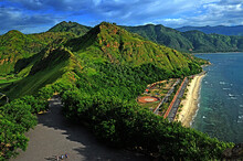 Scenery Of Natural Beauty With Mountains On The Cape Of Fatucama, Dili, Timor Leste