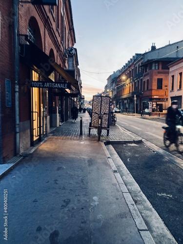 Fotografering Rue du Pont Saint Pierre