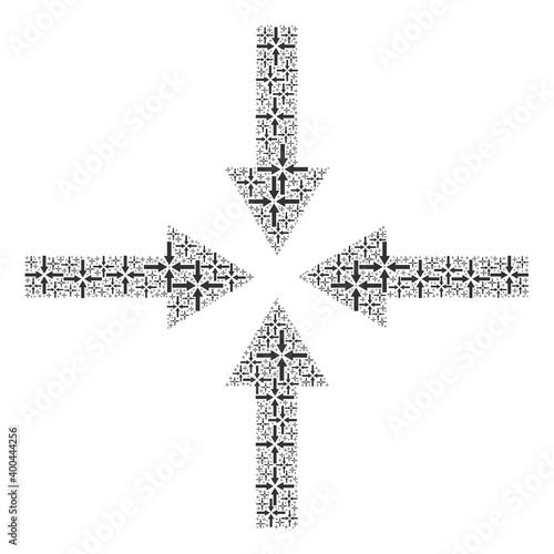 Fotografia, Obraz Recursive combination for impact arrows