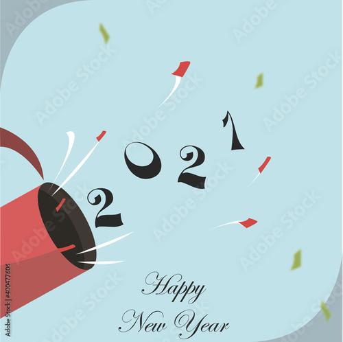 Fototapeta New Year