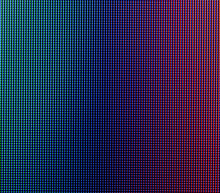 Abstract Macro Photo Of The Texture Pixels Of The TV