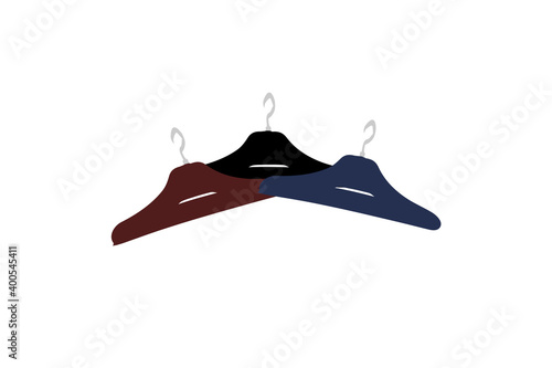 Fototapeta Clothes Hanger Simple Black,Blue, Red, Icon Vector Illustration