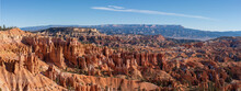 Panorama Of Sunrise Point In Bryce National Park