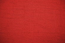 Dense Texture Of A Dark Red Thick Towel