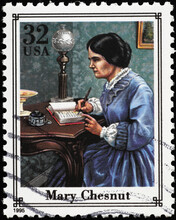 Mary Boykin Chesnut On American Postage Stamp