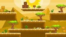 Desert Side Scrolling Platformer Game Tileset