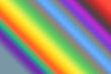 Abstract Colorful Rainbow Gradient Hand Drawn Background