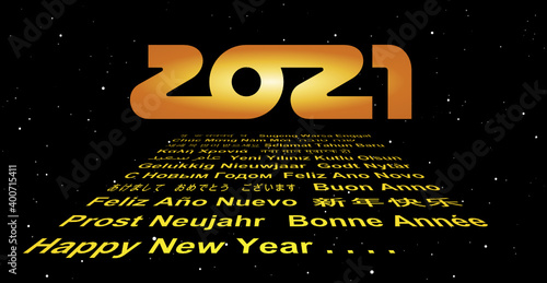 2021: May the force and happiness be with you!