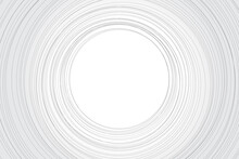 Line 3D Abstract White Background