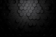 Beautiful 3d Hexagon Abstract Background