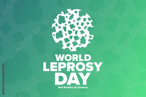 Fototapeta World Leprosy Day