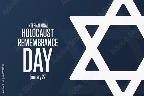 Obraz na plátne International Holocaust Remembrance Day