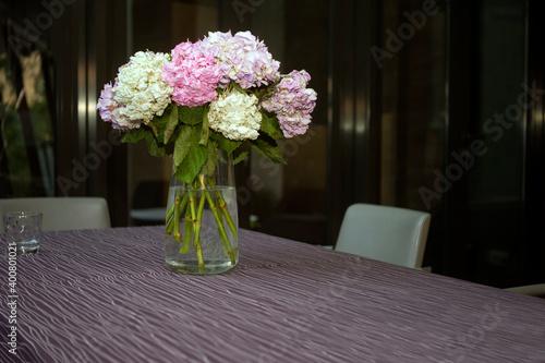 Fotografie, Tablou Bouquet of hydrangea