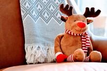 Reindeer And Christmas Decoration