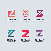 Z Logo Design Template Monogram
