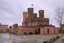 Fortress Friedrichsburg. Old German Fort In Koenigsberg. Kaliningrad (until 1946 Koenigsberg), Russia.