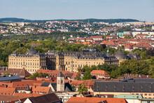 Germany, Bavaria, Wurzburg,ÔøΩWurzburg Residence And Surrounding Buildings