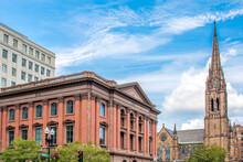 Bonwhitt Teller Building And First Baptist Church Of Boston Boston Massachusetts USA
