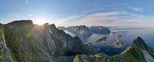 Scenic View Of Mountain At Reine, Lofoten, Norway