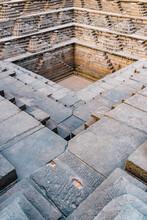 India, Karnataka, Hampi, Square Water Pavilion, Also Called Queens Bath