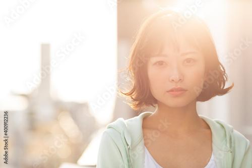 Fotografiet 若い女性